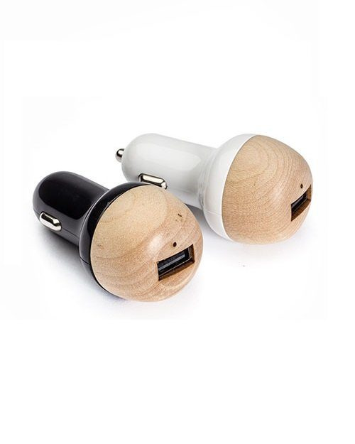 "Car Charger ""Wood"""